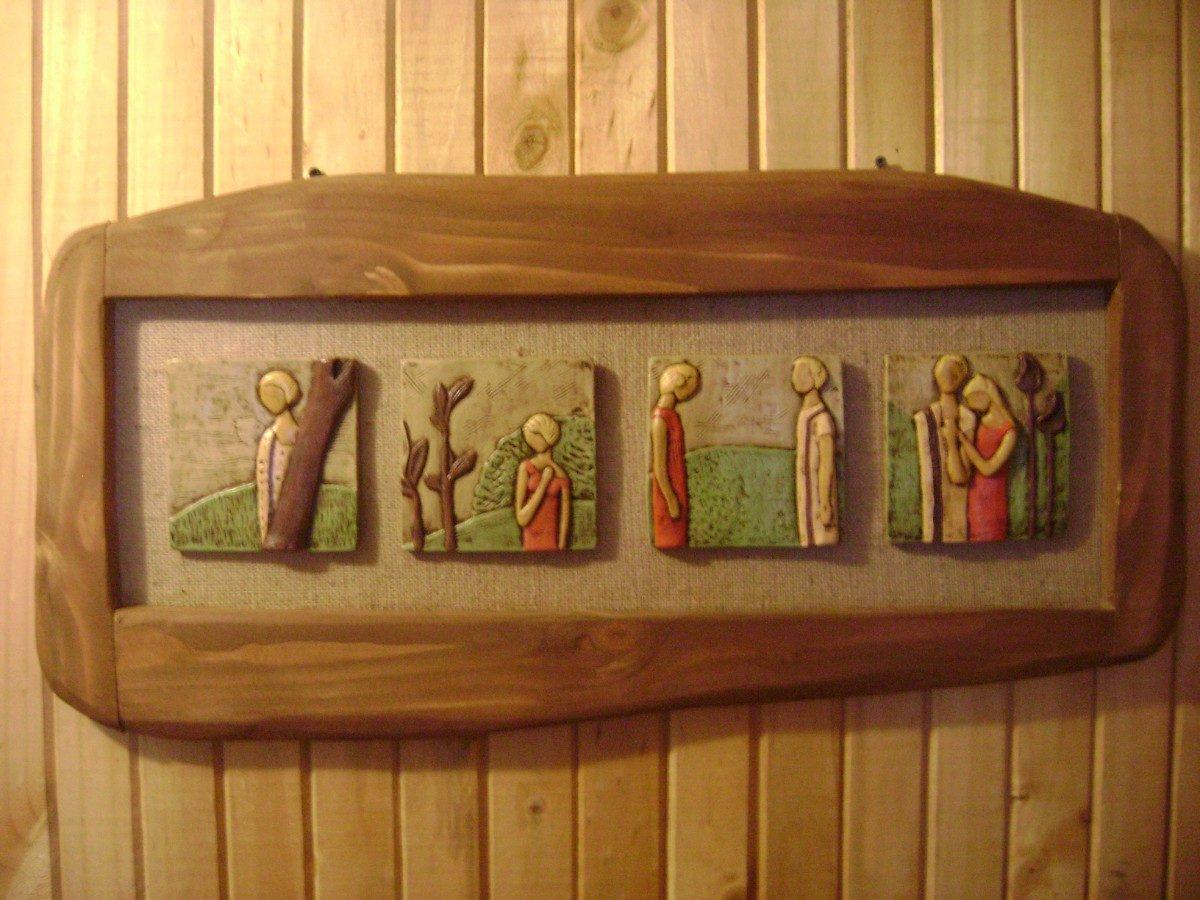 Cuartos rusticos madera mejores ideas para el dise o del for Imagenes de cuadros abstractos rusticos
