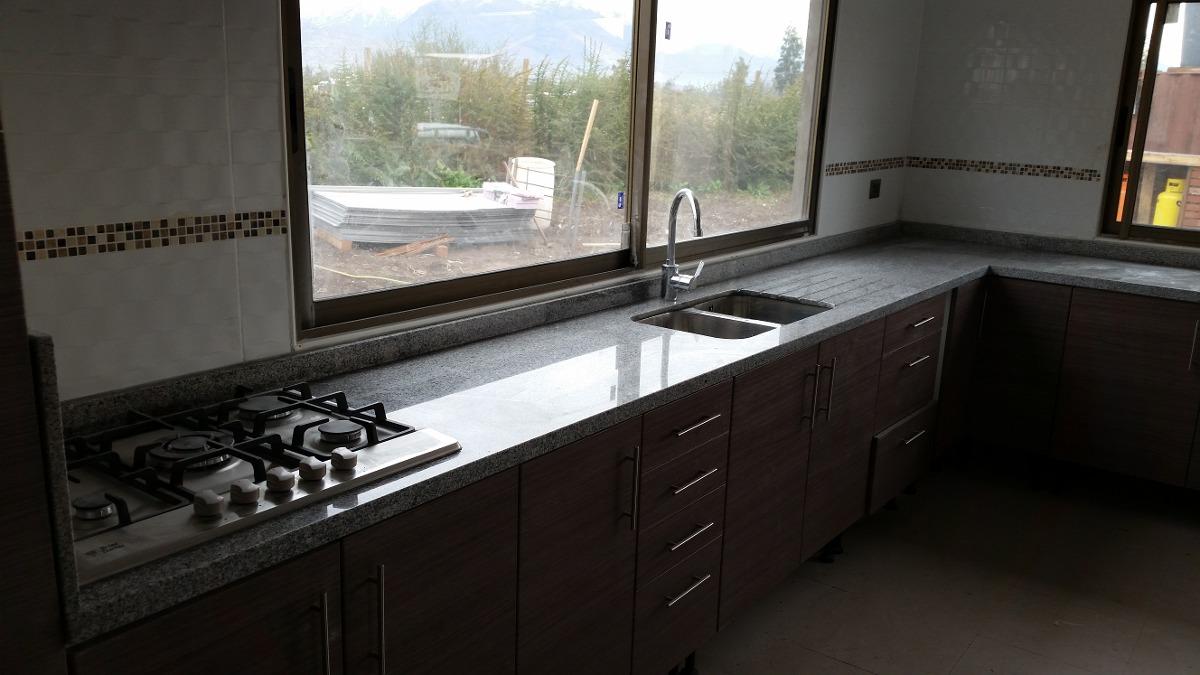 Granito o marmol para cocina silestone en barcelona para for Encimera cocina granito precio