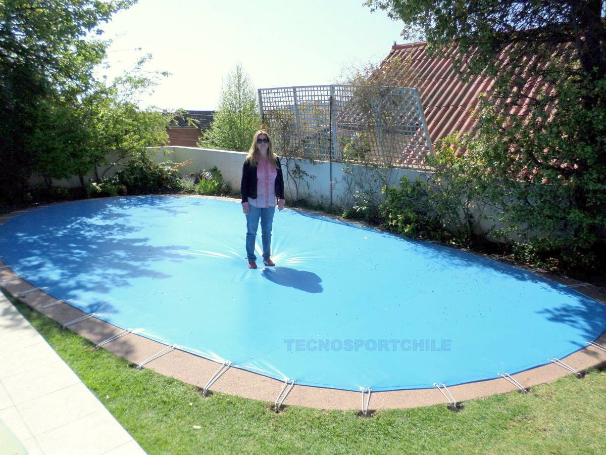 Cubre piscina santiago en mercado libre for Cubierta piscina precio