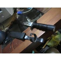 Cuchillo Supervivencia Con Estuche. Made In Taiwán.