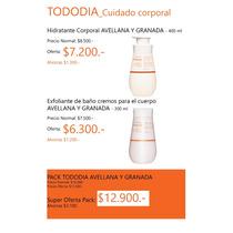 Pack Natura Avellana Y Granada Hidratante Y Exfoliante