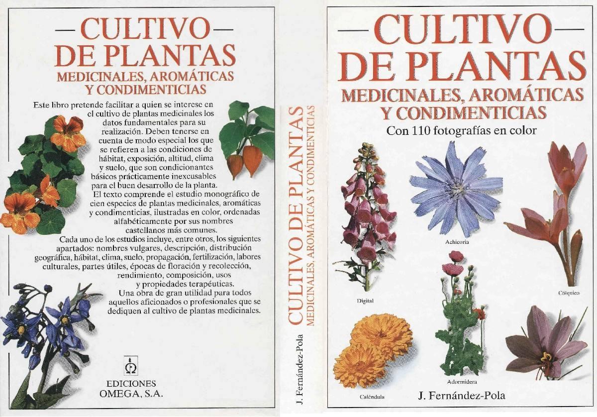 Cultivo de plantas medicinales arom ticas y condimenticia for Cultivo de plantas aromaticas y especias