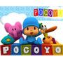 Kit Imprimible Pocoyo Personalizadas, Cumples Modificables