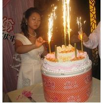 Velas Mini Bengalitas Torta De Cumpleaños
