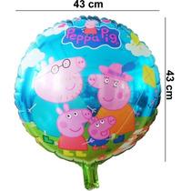 Globos Metálicos Peppa Pig Y Familia 12, 25 Y 50
