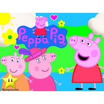 Peppa Pig Invitación Cotillón De Cumpleaños Imprimible