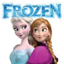 Frozen Invitación Cotillón De Cumpleaños Imprimible