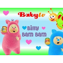 Billy Bam Bam Baby Tv Invitación Cotillón Imprimible