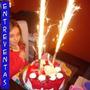 Vela Tipo Bengala, Volcan, Fiestas Y Cumpleaños X 6 Unidades