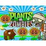 Kit Plants Vs Zombies Diseñá Tarjetas Cajas Cumples Y Mas