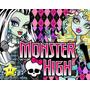 Kit Imprimible Monster High Diseñá Tarjetas, Cumples Y Mas#2
