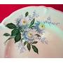 Plato Fanaloza Penco Vintage Coleccion Hermoso Diseño Floral