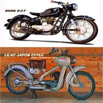 Afiches De 27x43 Cm. Motos Clásicas Antiguas,gráfica Digital