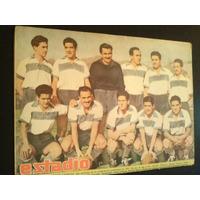 Estadio N° 423 Equipo Universidad Catolica 23 Jun 1945