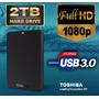 Disco Duro Externo Toshiba 2tb Lleno De Películas