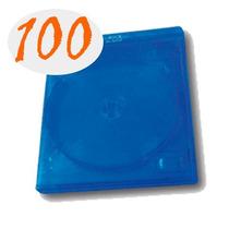 100 Cajas Para Blu-ray Sencilla Con Logo