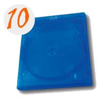 10 Cajas Para Blu-ray Doble Con Logo