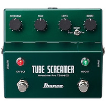 Ibanez Ts808dx Tube Screamer W/booster Chip Jrc4558d