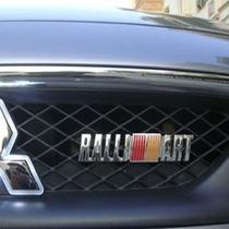 Emblema Ralliart Para Mascara Parrilla Mitsubishi