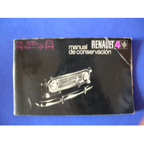 Antiguo Manual Autos Renault De Coleccion Año 1970 Escaso