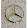 Emblema Mercedes Benz Frontal Capo Estrella 114mm 3 Pines