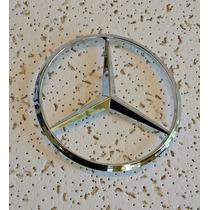 Emblema Mercedes Benz Frontal Capo Estrella 114mm 3 Pines