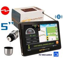 Gps 5 Fujitel, Tv Digital, Video Musica Fm, Bluetooth, Sd