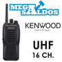 Megasaldos Radio Profesional Kenwood Tk 3302 Uhf Fm 16 Ch 4w