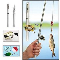 Lapiz Caña De Pescar Retráctil Pen Fish Rod