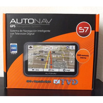 Gps Autonav 57 Con Tv Digital Navegacion Inteligente 8gb