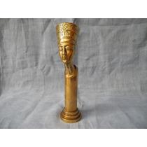 Estatua Bronce Influencia Egipcia Art Nouveau. Art Deco
