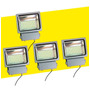 Pack 4 Foco Proyector Led 100 W 190 Leds,chip Smd, 10000 Lum