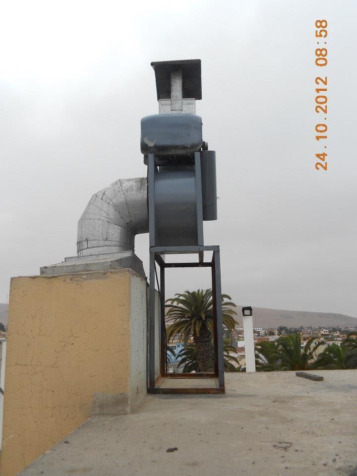 Extractores de aire para campana de cocina e industrial - Extractor de aire para cocina ...