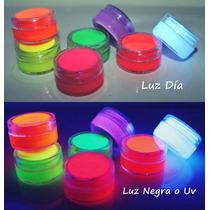 Maquillajes, Pinturas Fluor O Uv! Disponibles En 8 Colores