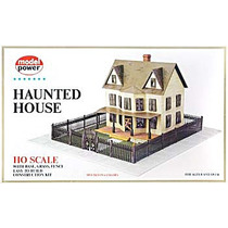 Trenes Electricos - Ho Scale Building (haunted House)
