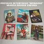 Postales S/escribir Del 70 Marca Kruger 10x15 Cm. Colección.