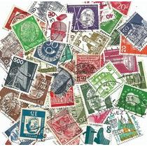 Ofertón # 005, 100 Sellos Usados Diferentes De Alemania