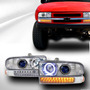 Opticos Con Angel Eyes + Intermitentes Con Led Chevrolet S10