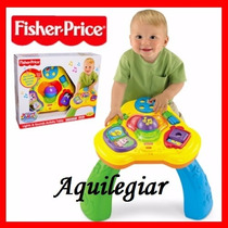 Mesita De Actividades Bebé Fisher Price, Con Sonidos Y Luces
