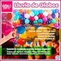 Kit Lluvia De Globos Colores + Inflador De Regalo Novedad !!