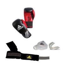 Pack Adidas Box 10oz Vendas Y Bucal