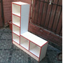 Mueble Multiuso En Melamina Blanca 105 X 90 X 25