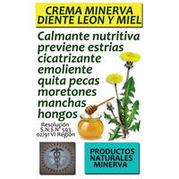 Crema Natural Diente León Y Miel Con Flores De Bach