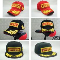 Jockey Pirelli F1 Rojo Y Negro