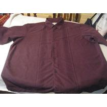 Camisa Guayaberaconcepts Talla 3xl Manga Corta Color Burdeo