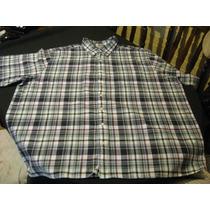 Camisa Guayabera Sport Oak Hill Talla 3xl Manga Corta