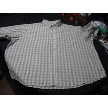 Camisa Sport Puritan Talla 3xl Manga Corta Impecable