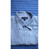 Camisa Manga Larga, Rockford, Oxford, Talla L.
