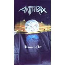 Anthrax Polera Manga Corta
