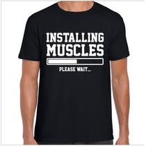 Polera Gimnasio Musculosa Entrenamiento Ejercicio Gym M